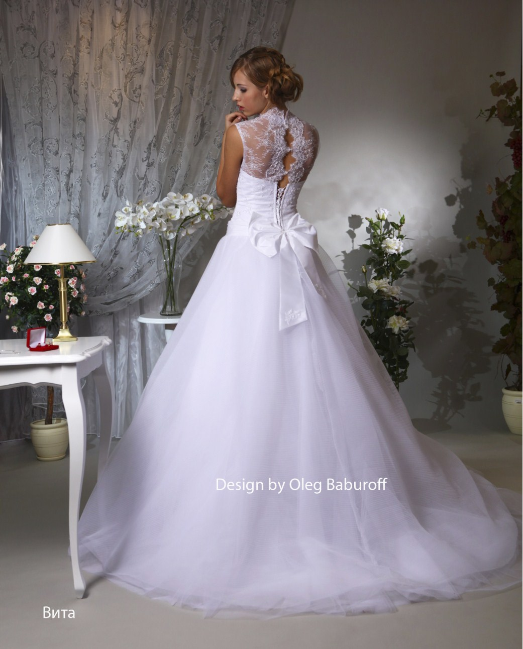 Съёмка для каталога свадебных платьев салона «Злата», 2012 | LK
